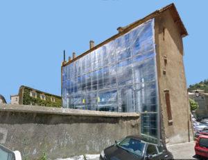 façade arrière du Tivoli